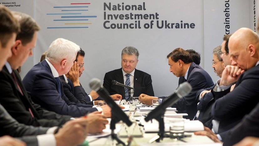 Порошенко назвал сроки создания антикоррупционного суда на Украине