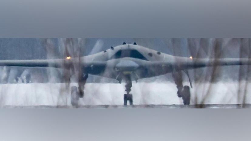 Лётчик рассказал о функциональности ударного беспилотника «Охотник»