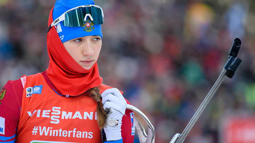 Лучший результат в карьере: Миронова финишировала седьмой в спринте в рамках этапа Кубка мира по биатлону в Антхольце