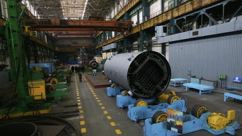 В Ленинградской области промышленность выросла на 4,9% за год
