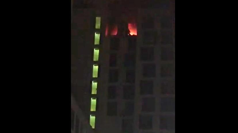 Источник сообщил о взрыве в жилом доме в Балашихе