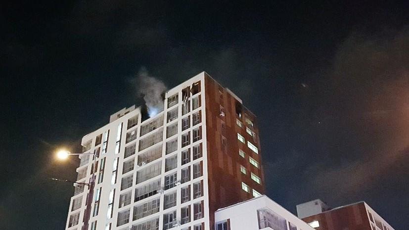 При пожаре в жилом доме в Балашихе погибли два человека