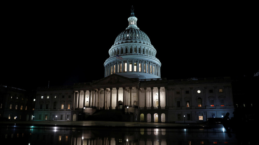 Капитолийская стена: сенат США не принял ни один из двух законопроектов о прекращении шатдауна