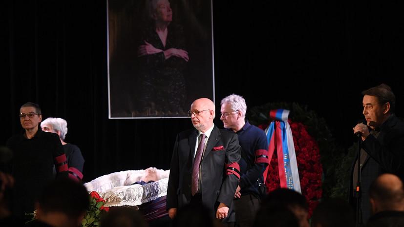 Прах Алексеевой захоронят в Вашингтоне 6 апреля