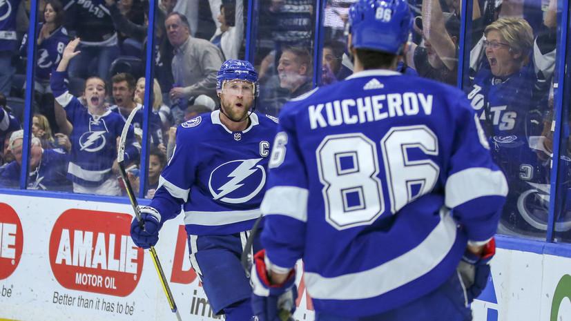 Стэмкос о Кучерове: он любит хоккей и хочет стать лучшим