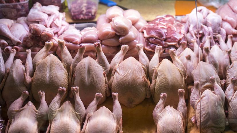 Росстат заявил о росте цен на мясо курицы на 22,4% за год