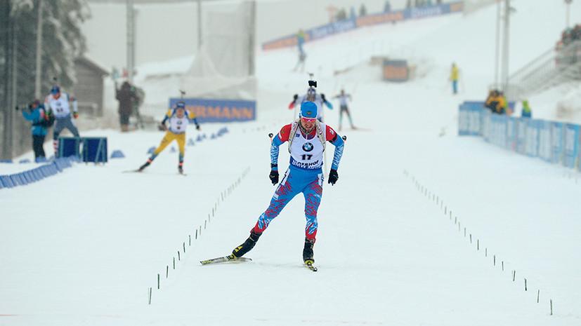 Проблемы со стрельбой: россияне не попали в топ-20 в спринте на этапе Кубка мира по биатлону в Антхольце