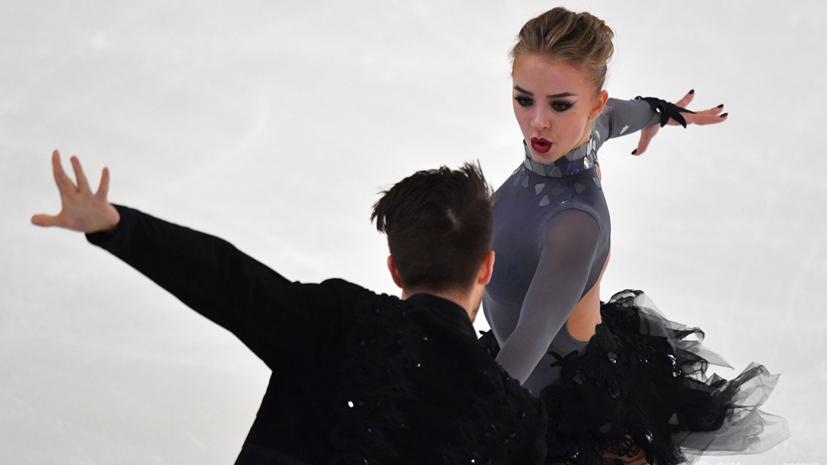 Степанова и Букин занимают второе место после ритм-танца на ЧЕ по фигурному катанию