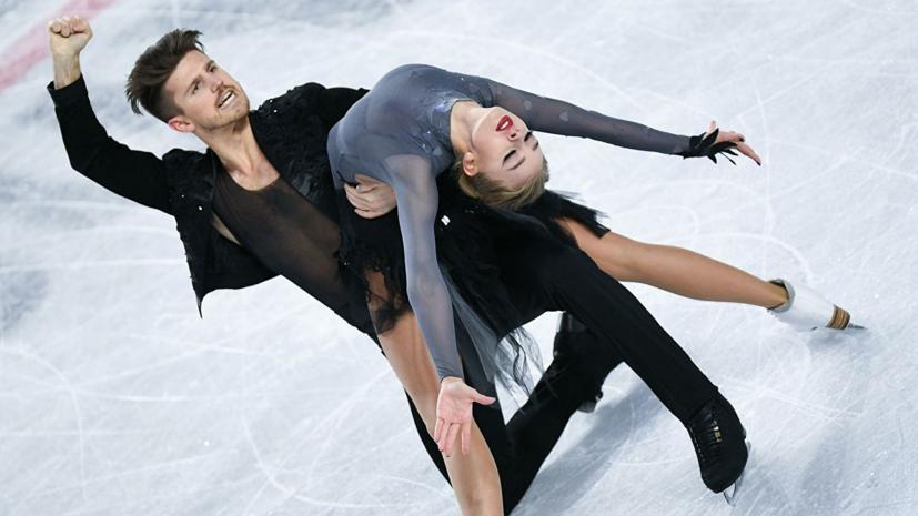 Степанова и Букин довольны своим прокатом ритм-танца на ЧЕ в Минске