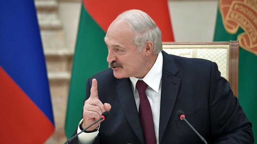 Лукашенко предложил проверить слух чиновников