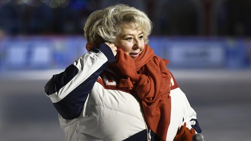 Тарасова восторженно отреагировала на золото Самодуровой на ЧЕ
