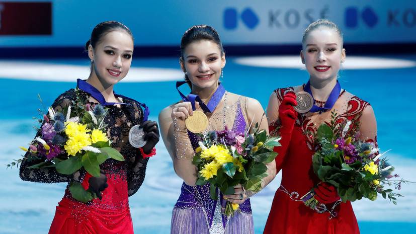 «Хочу извиниться перед болельщиками»: о чём говорила Загитова после победы Самодуровой на чемпионате Европы