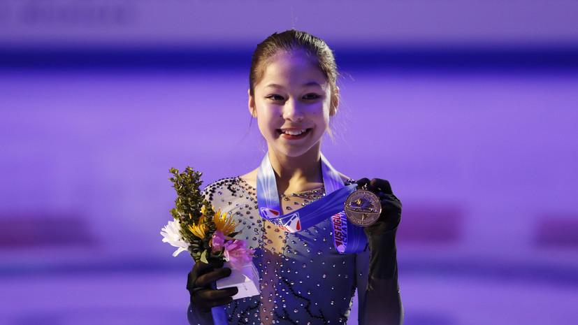 На чемпионате США по фигурному катанию победила 13-летняя девочка