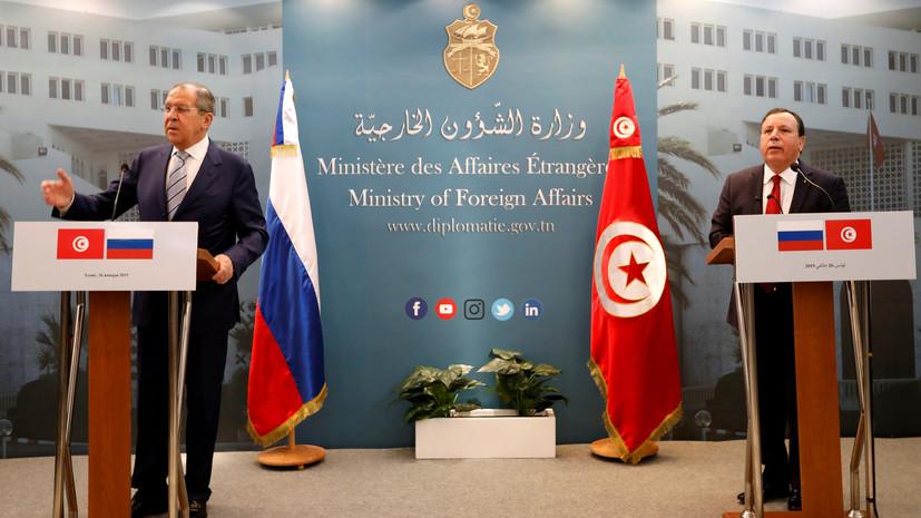 Россия и Тунис активизируют сотрудничество в борьбе с терроризмом