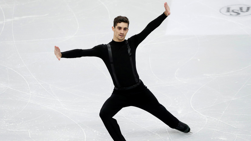Фернандес выиграл чемпионат Европы по фигурному катанию, Самарин — второй