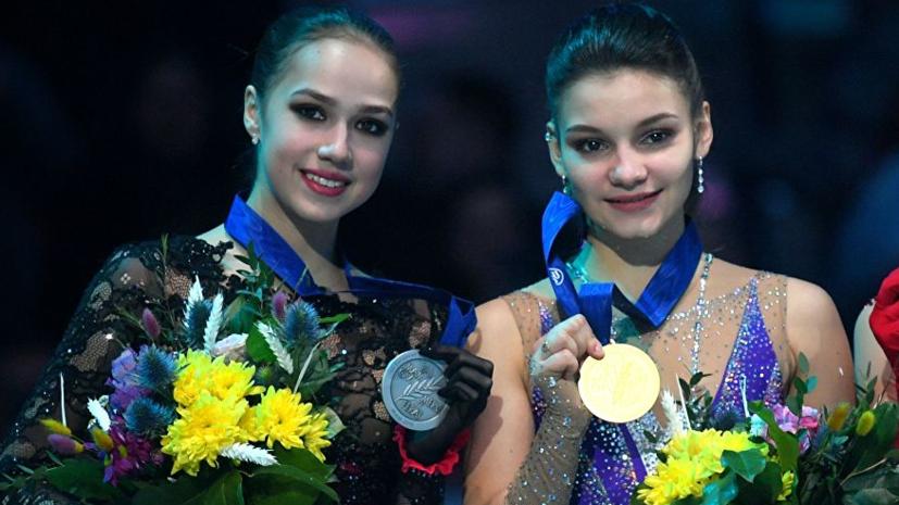 Сборная России заняла второе место в медальном зачёте ЧЕ по фигурному катанию