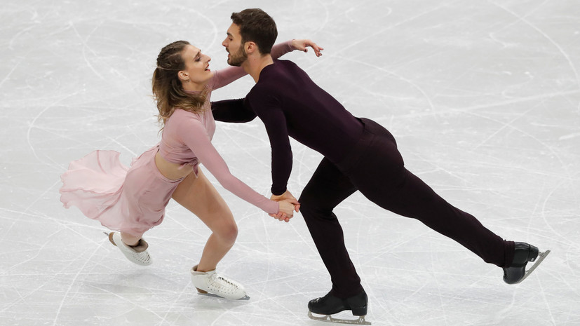 Пападакис и Сизерон рады своей победе на чемпионате Европы по фигурному катанию