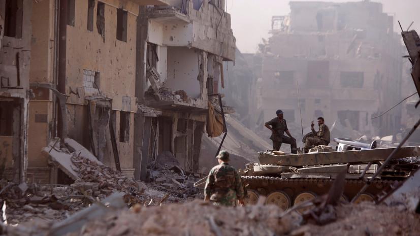 В ЦПВС сообщили о ранении сирийского военного при обстреле боевиков
