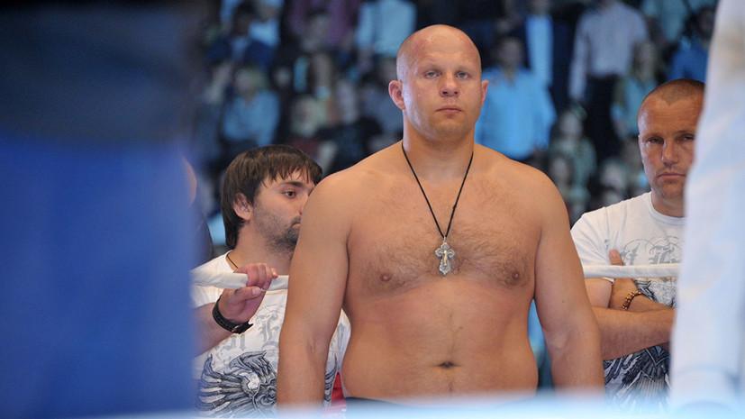 Боец UFC Олейник: Емельяненко не нужно уходить из спорта после боя с Бейдером