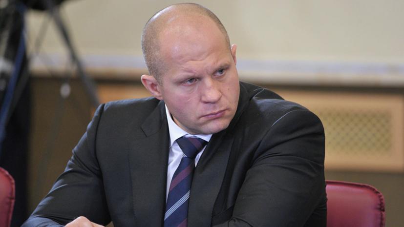 Тактаров считает, что Емельяненко стоило отказаться от боя с Бейдером