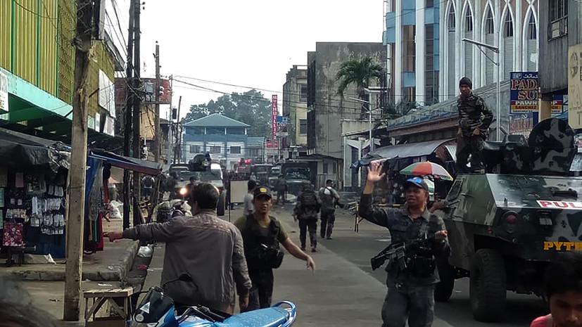 Полиция уточнила число погибших при взрывах на Филиппинах