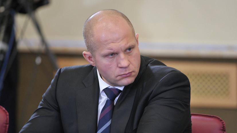 Белорусский боец UFC пошутил над поражением Фёдора Емельяненко