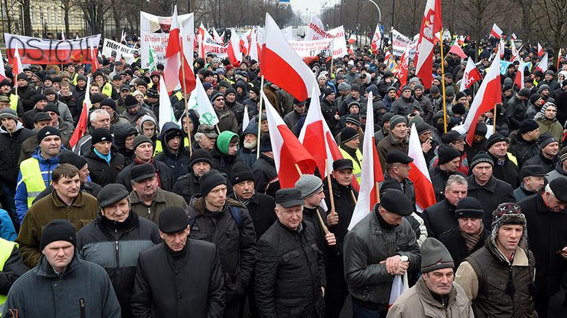 «Напряжение будет расти»: почему польские фермеры требуют от Варшавы прекратить поддержку Украины
