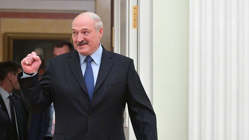 Лукашенко поприветствует участников ЧЕ по фигурному катанию на показательных выступлениях
