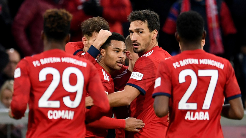 «Бавария» одержала седьмую победу подряд в Бундеслиге, разгромив «Штутгарт»