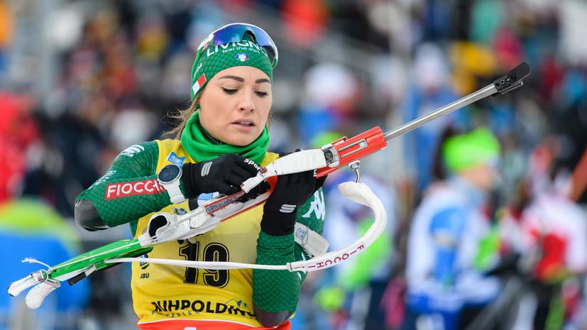 Вирер сохранила лидерство в общем зачёте КМ по биатлону после этапа в Антхольце
