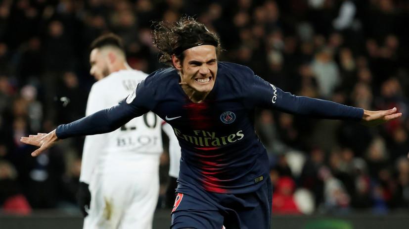 ПСЖ разгромил «Ренн» в чемпионате Франции по футболу