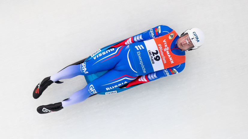 Демченко оценил результаты российских саночников на чемпионате мира в Винтерберге
