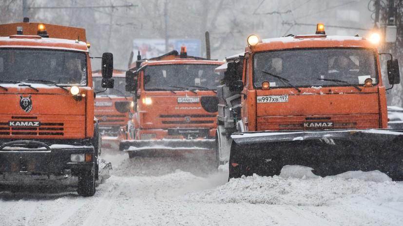 В Москве водителей призвали пересесть на общественный транспорт из-за уборки снега