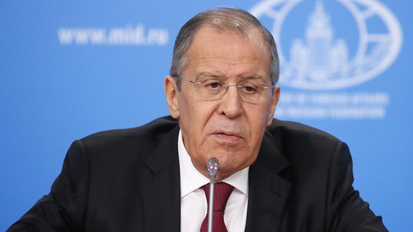 Лавров оценил ситуацию в сирийском Идлибе