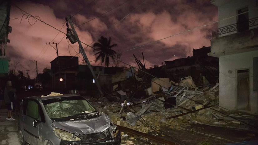 На Кубе более 170 человек пострадали в результате торнадо
