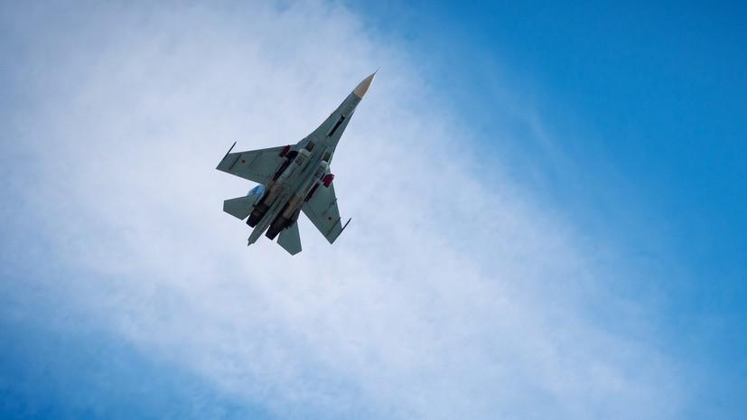 Российский Су-27 перехватил самолёт-разведчик США над Балтикой