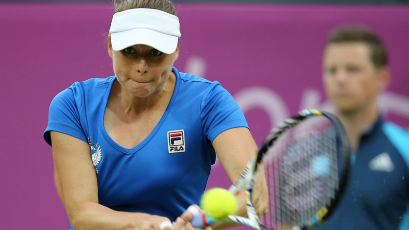 Звонарёва вышла во второй круг турнира WTA в Санкт-Петербурге