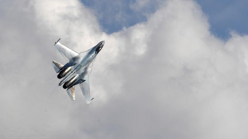 Приближался к госгранице: российский истребитель Су-27 перехватил самолёт-разведчик США в небе над Балтикой