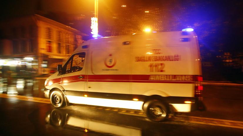 В Стамбуле при пожаре на танкере погибли два человека