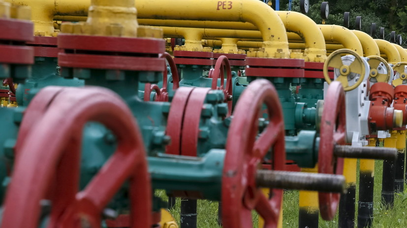 Украина начетверть сократила импорт газа— НАК