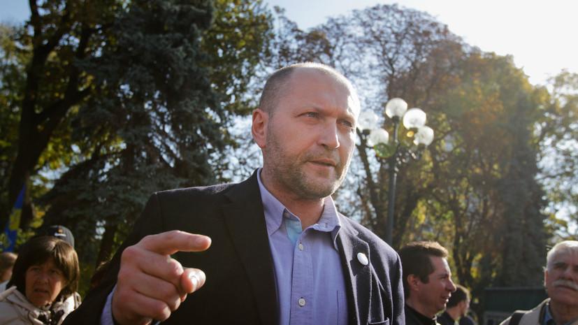 Толкнувший Скабееву депутат Рады прокомментировал заявление Кадырова