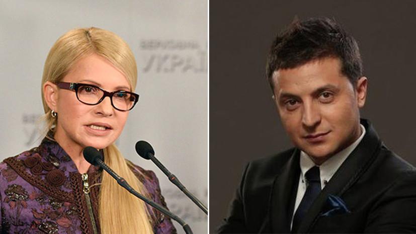 Опрос: Тимошенко и Зеленский вновь лидируют в президентском рейтинге