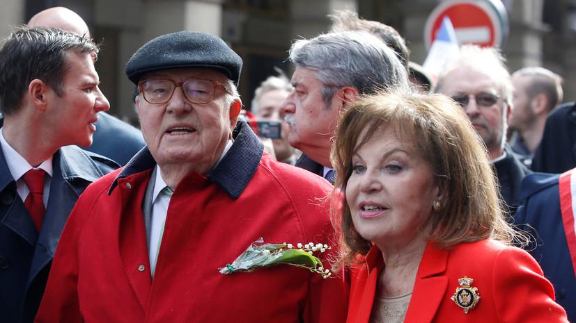 Во Франции напали на супругу Жана-Мари Ле Пена