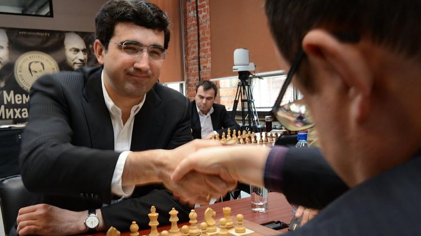Карпов надеется, что Крамник ещё вернётся в шахматы