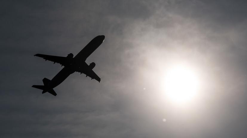 Приземлившийся в Сочи из-за дебоша самолёт вылетел в Анталью