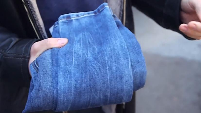 Украинский депутат подарил Тимошенко джинсы
