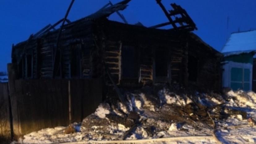 В Юргамышском районе Курганской области объявили траур по погибшим в двух пожарах