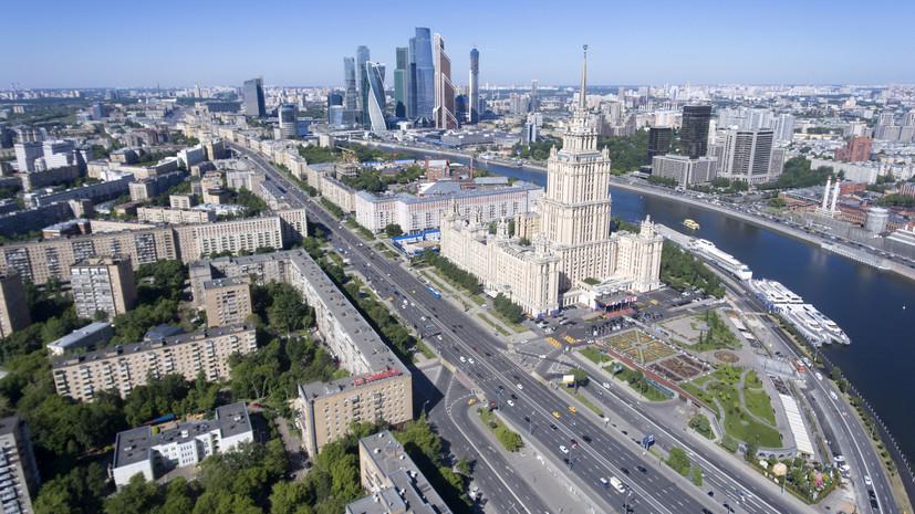 В Москве планируют благоустроить 50 улиц и 150 парков в 2019 году
