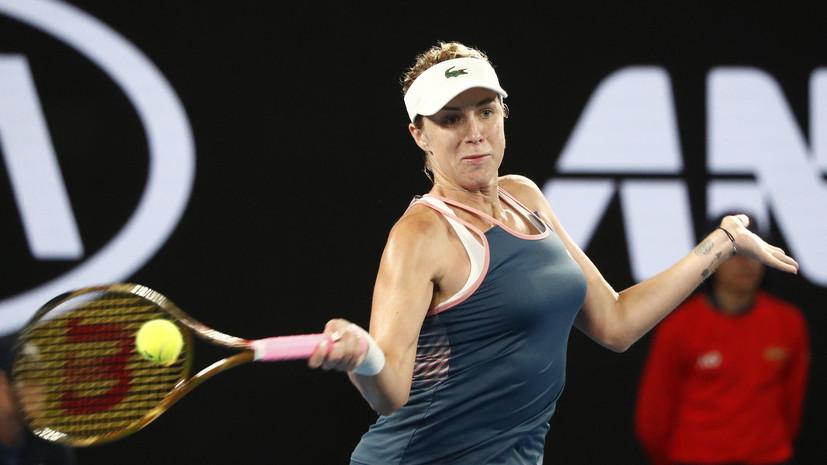 Павлюченкова победила Корне в первом круге турнира WTA в Санкт-Петербурге