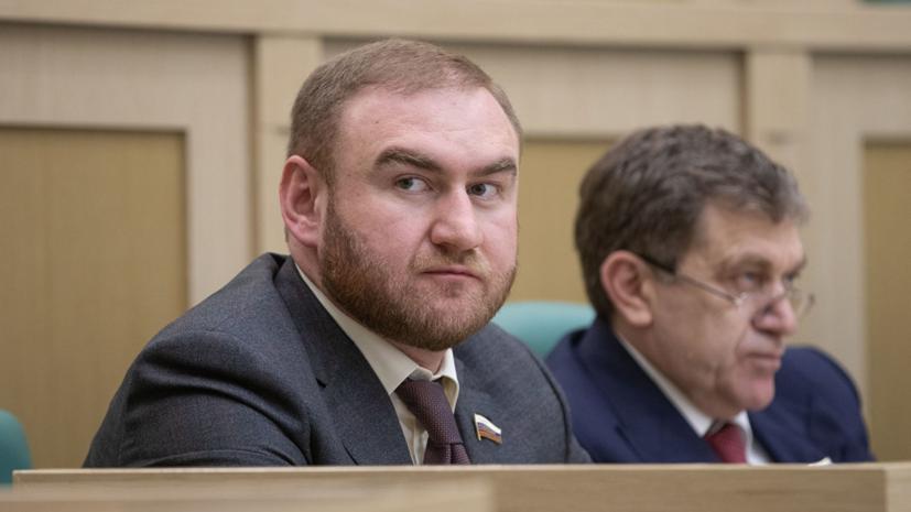 Сенатор Рауф Арашуков доставлен в СК на допрос